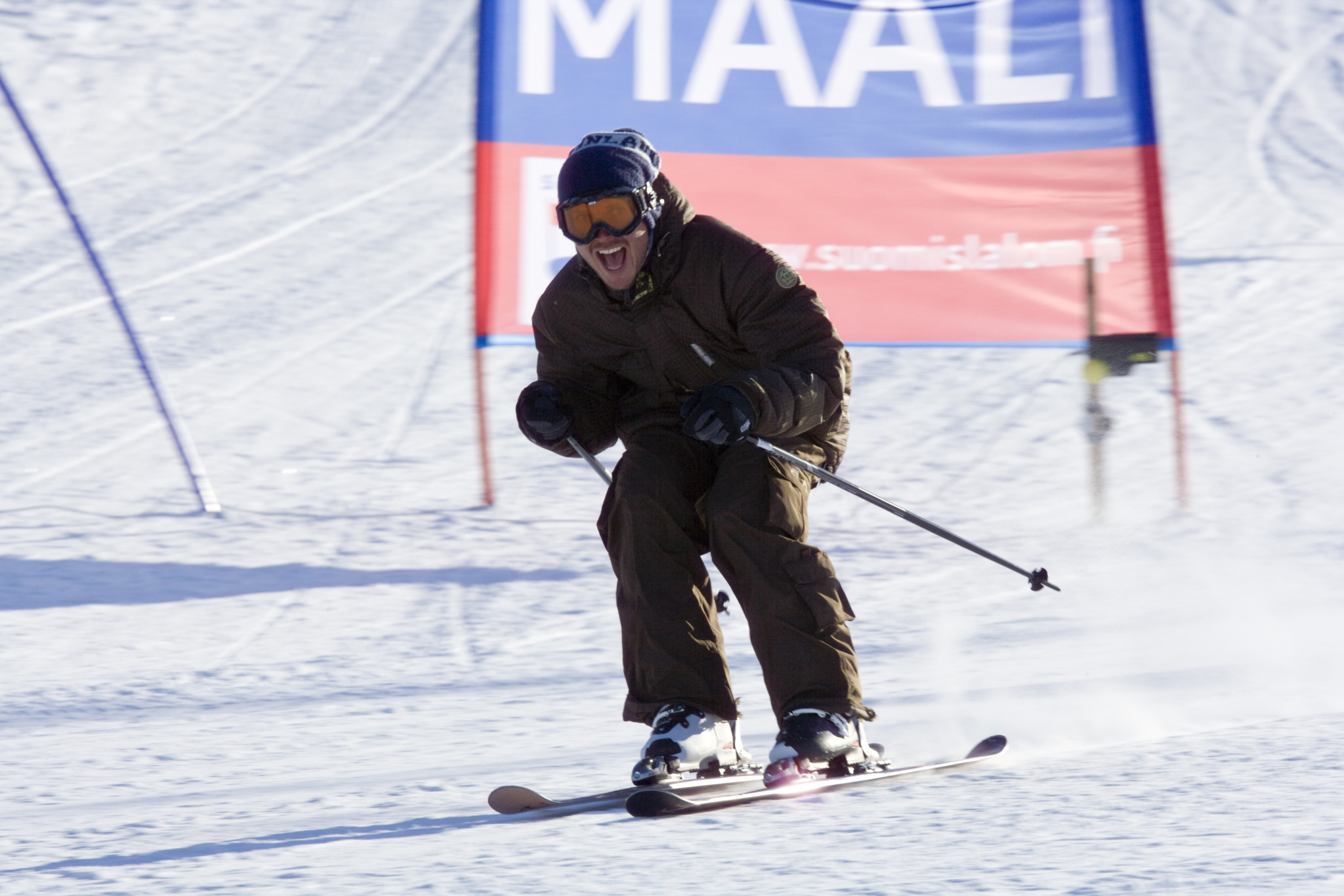 Alpine skiing, Ounasvaara Ski Resort, Rovaniemi