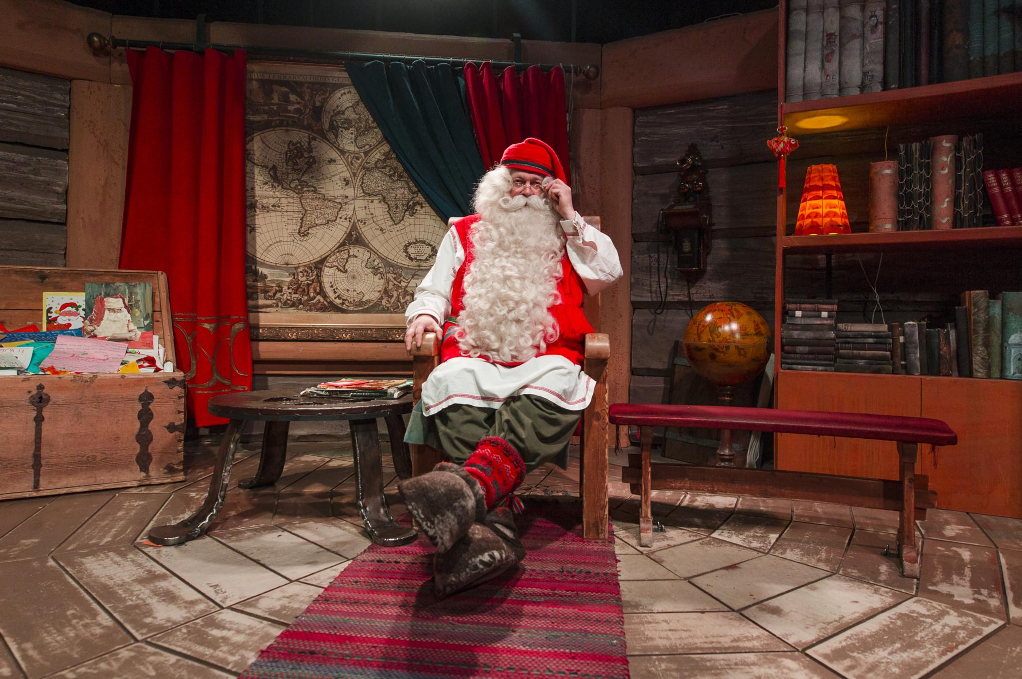 Santa Claus Office Rovaniemi Lapland Finland