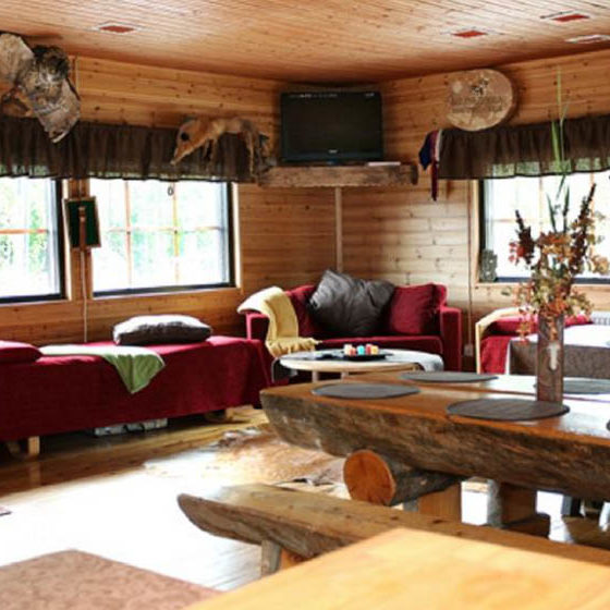 Accommodation Parpalandia in Rovaniemi, Lapland. Finland