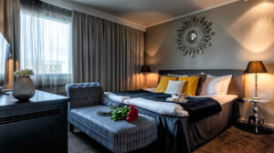 Accommodation in Arctic City Hotel in Rovaniemi, Lapland, Finland