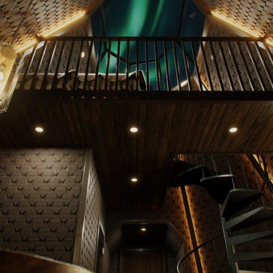 Apukka Resort Rovaniemi Lapland Finland Kammi Suite interior