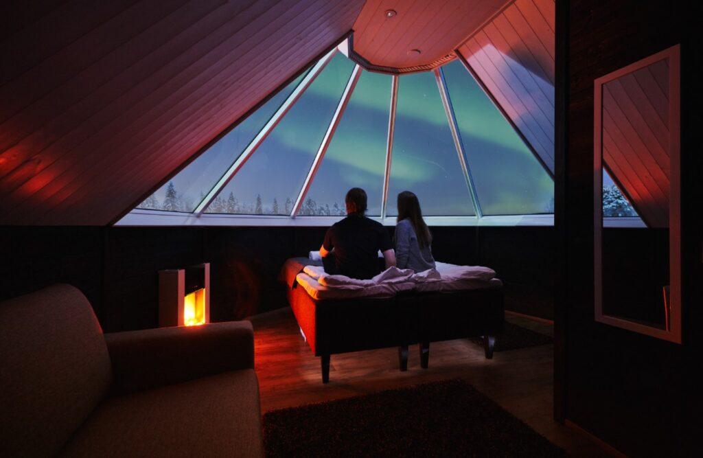 Apukka resort aurora cabins Visit Rovaniemi
