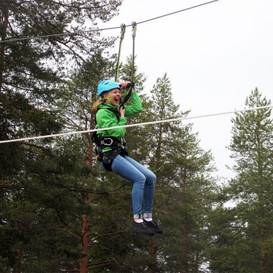 Arctic Adventure Park Huima, Santasport, Ounasvaara, Rovaniemi