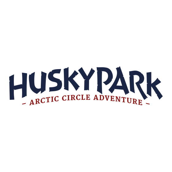 Arctic Circle Huskypark husky kennel in Rovaniemi Lapland Finland