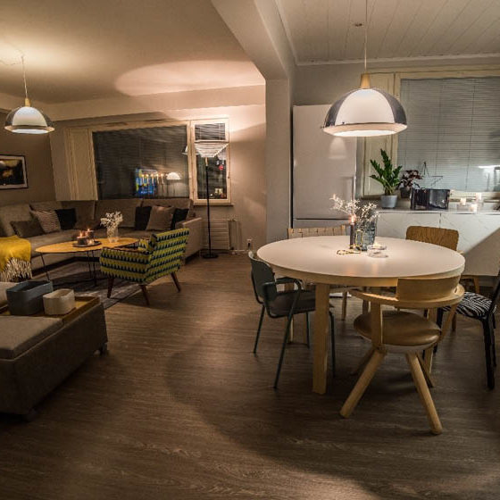 Arctic Dreams House Luxury Downtown Rovaniemi Apartment, Lapland, Finland