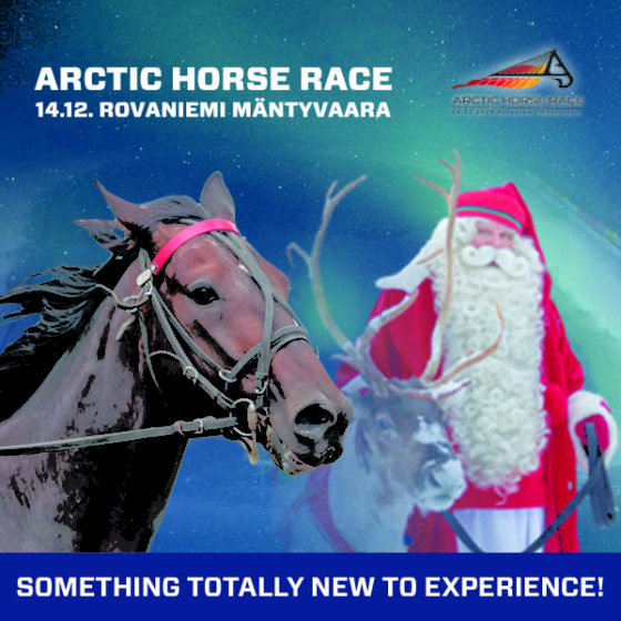 Arctic Horse Race in Mantyvaara Racing Track