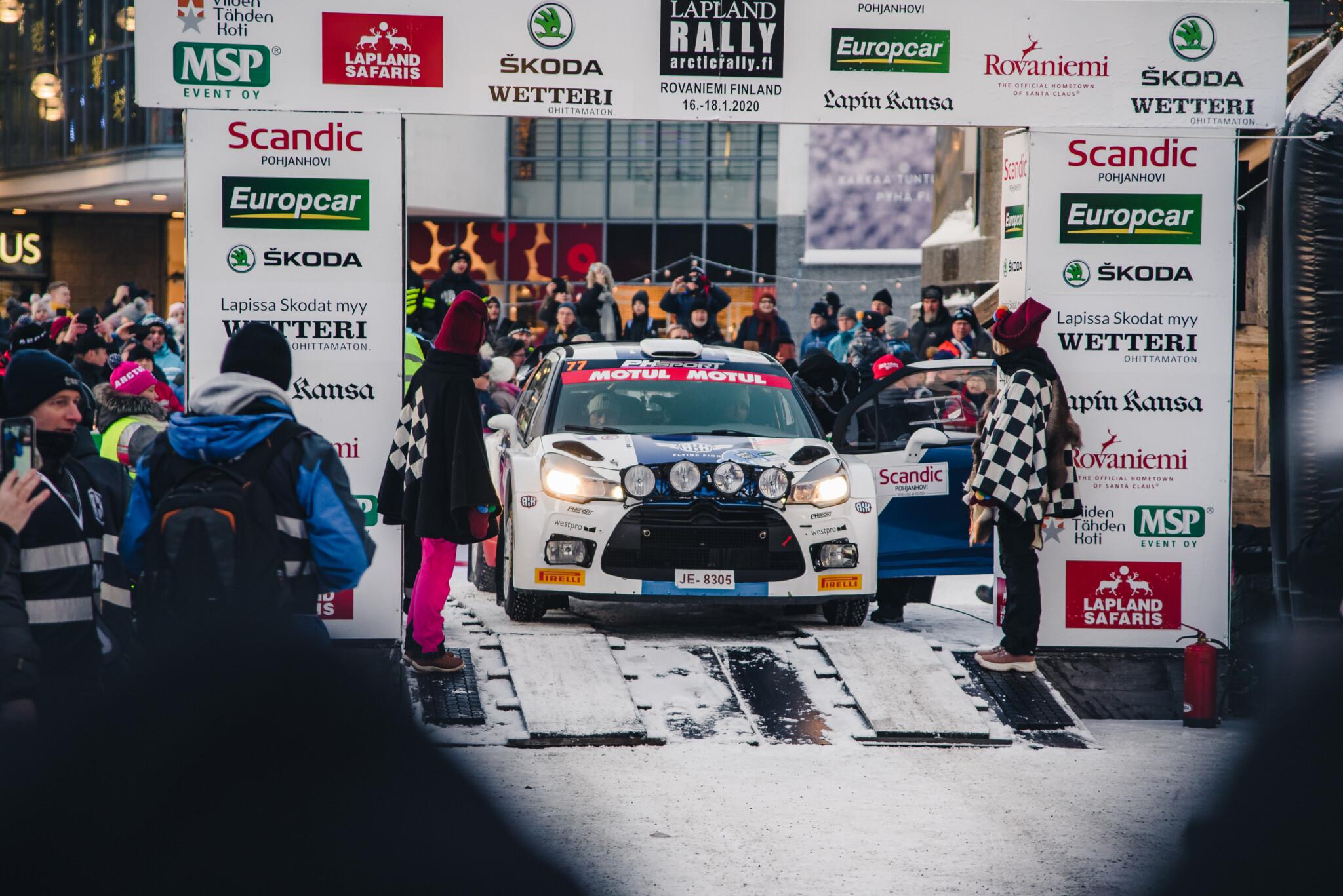 Arctic Lapland Rally 2015 in Rovaniemi Lapland Finland (27)