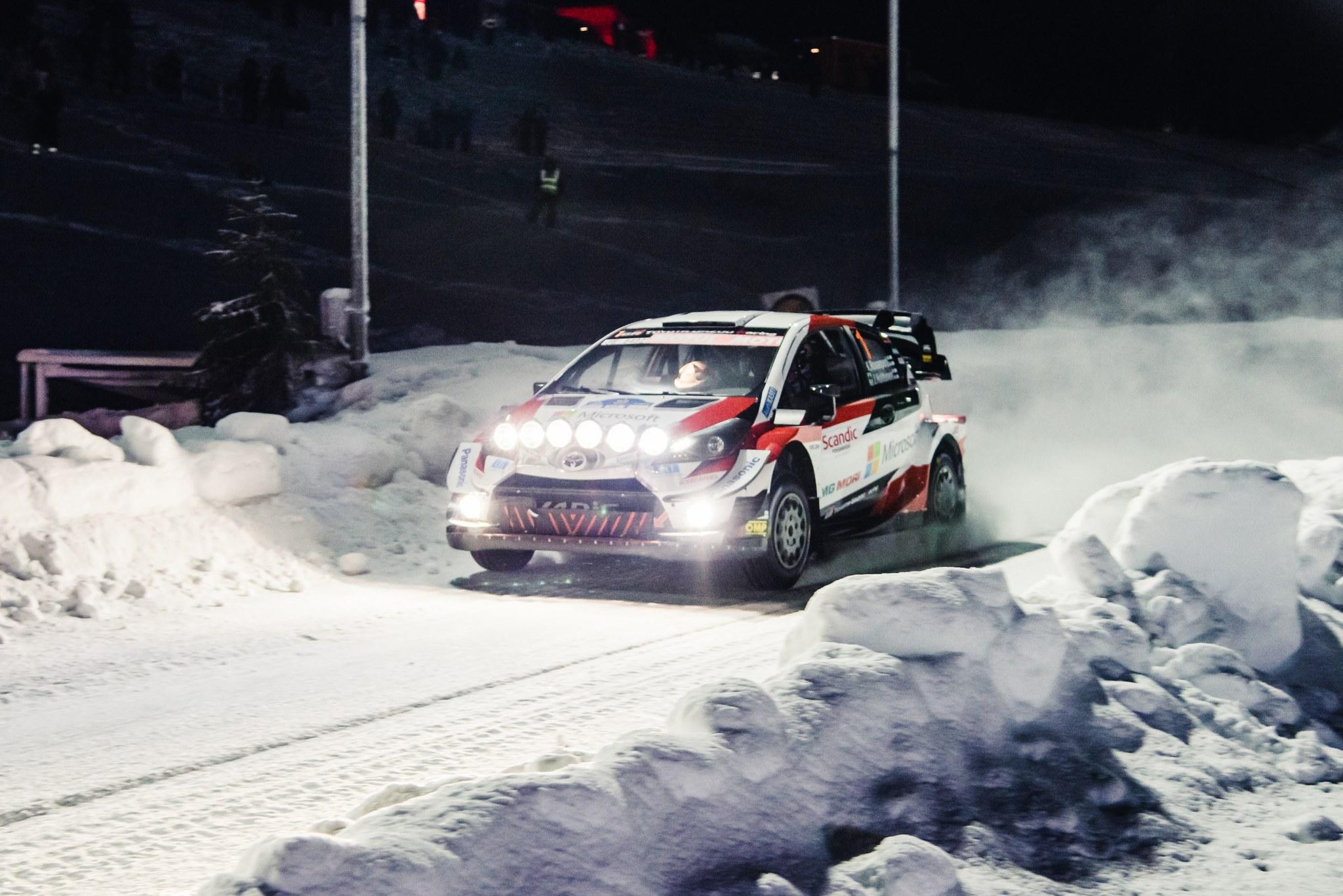 Arctic Lapland Rally 2021 in Rovaniemi