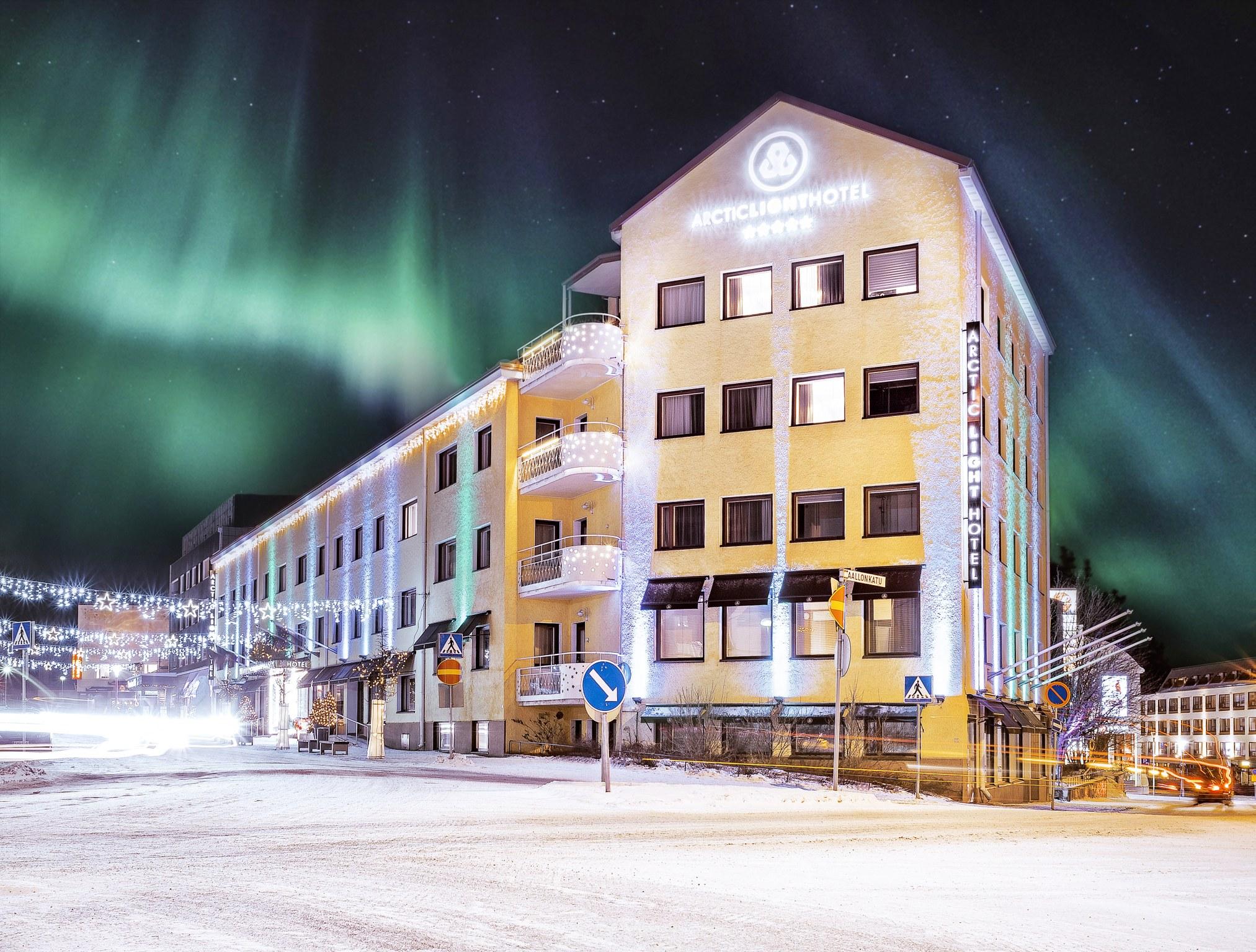 Arctic Light Hotel, Rovaniemi, Lapland, Finland