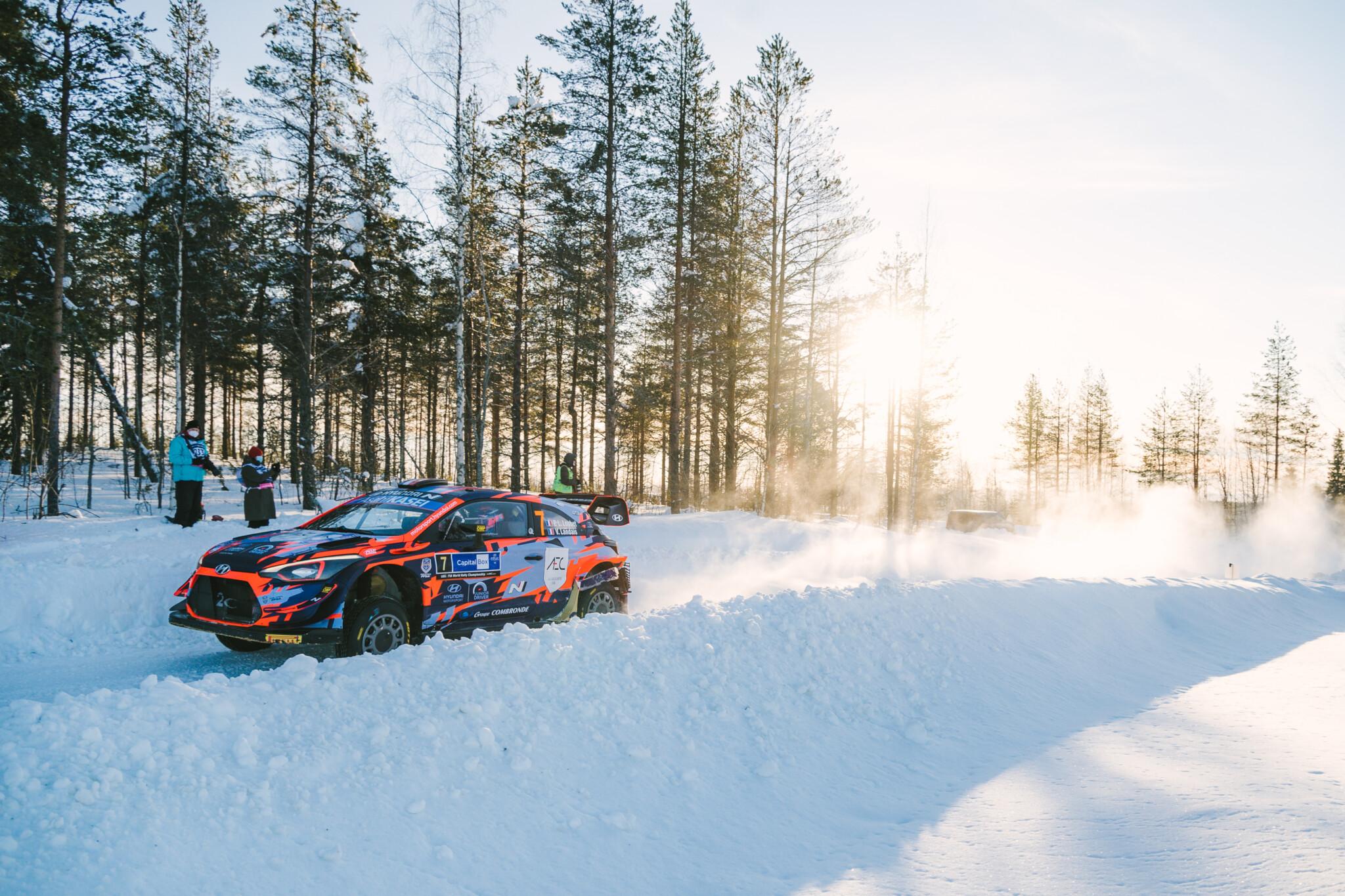 Arctic Rally Finland Day 2 Visit Rovaniemi