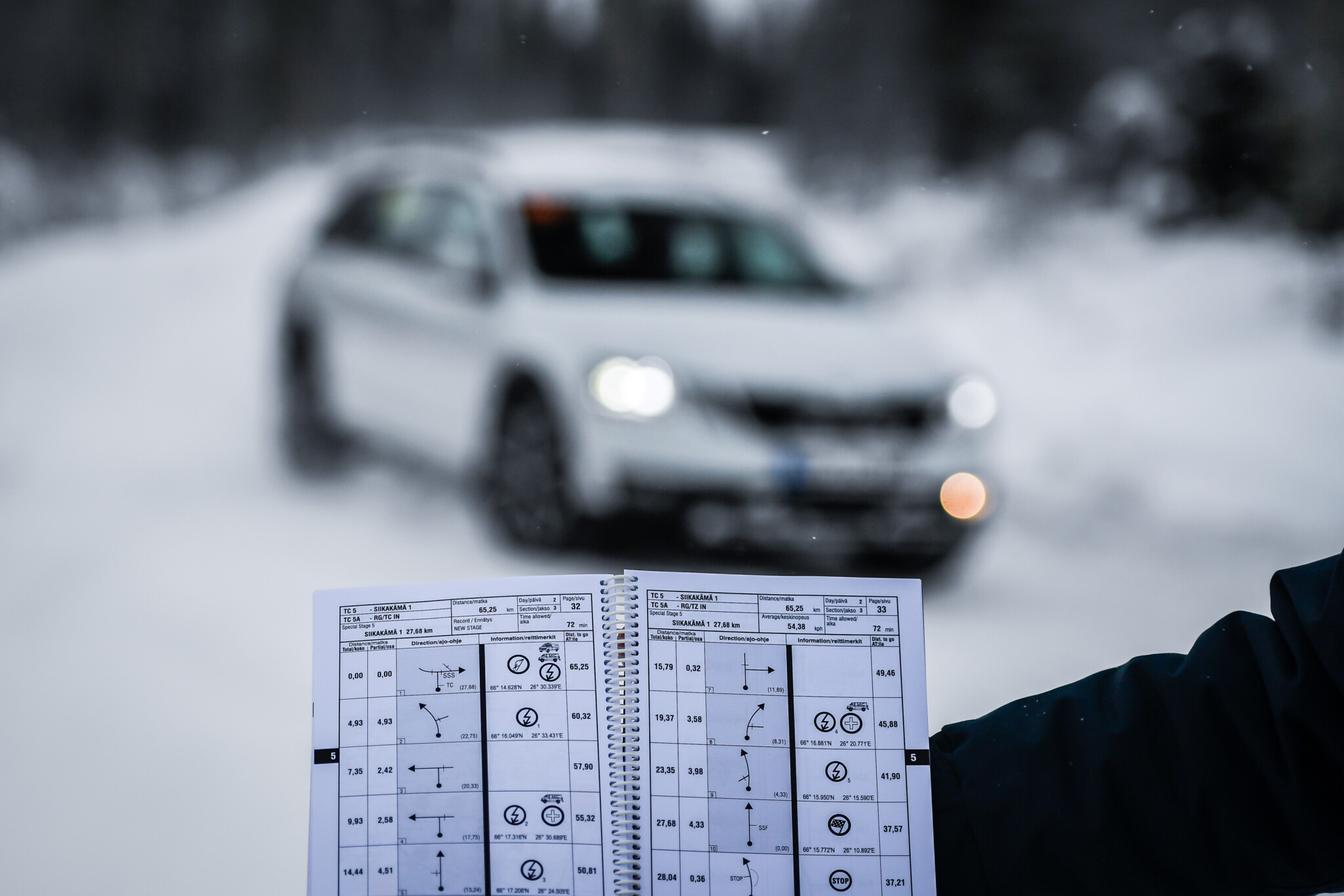 Arctic Rally Finland Rovaniemi