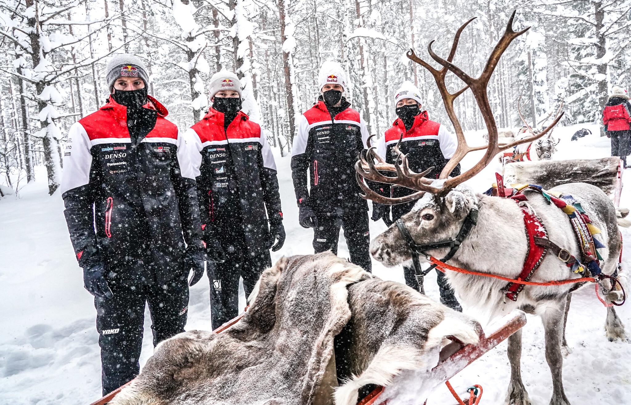 Arctic Rally Finland Team Toyota