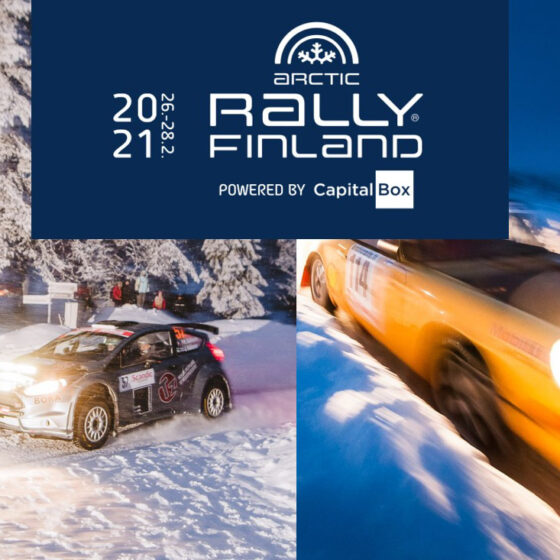 Arctic Rally Finland Visit Rovaniemi First ever Arctic Rally Finland Powered by CapitalBox