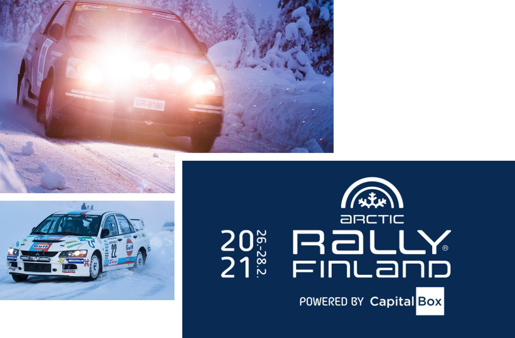 Arctic Rally Finland Visit Rovaniemi First ever Arctic Rally Finland Powered by CapitalBox in Rovaniemi 2021
