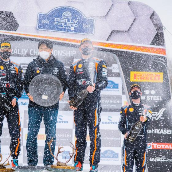 Arctic Rally Finland Visit Rovaniemi the podium (4)
