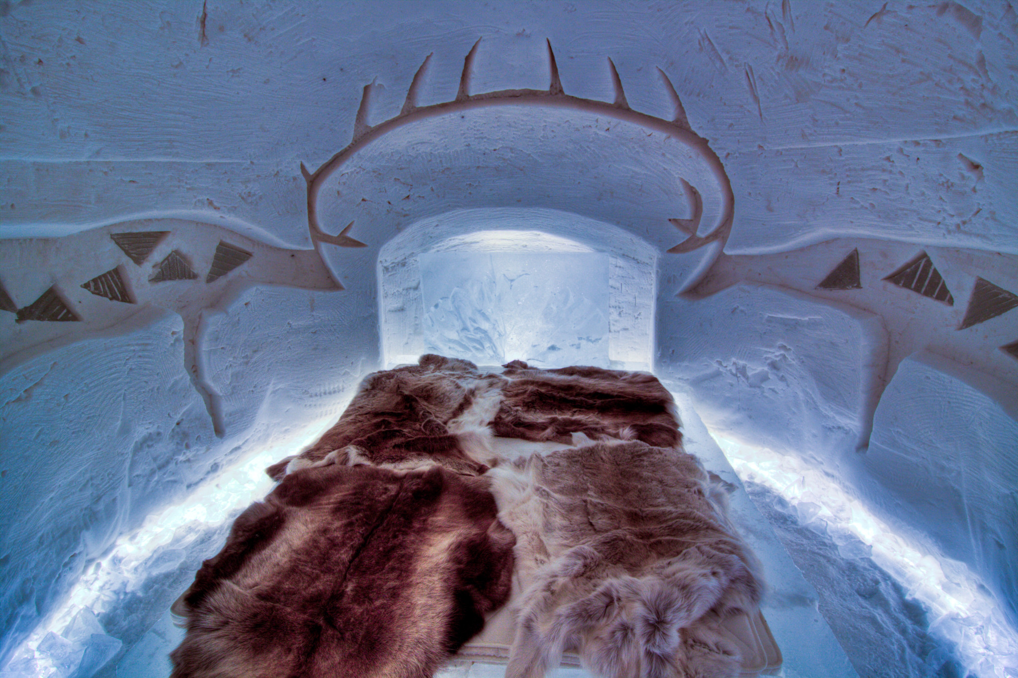 Arctic Snow Hotel in Rovaniemi Lapland Finland