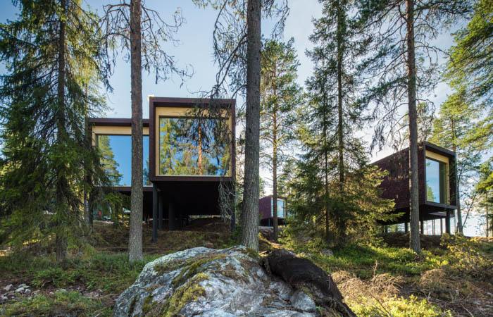 Arctic TreeHouse Hotel Summer, Rovaniemi, Lapland, Finland