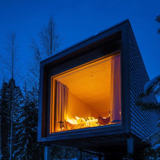 Arctic TreeHouse Hotel Rovaniemi Lapland Finland