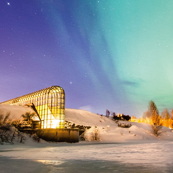 Arktikum-museum-sciencecentre-aurora-borealis-northernlights-rovaniemi-lapland-finland