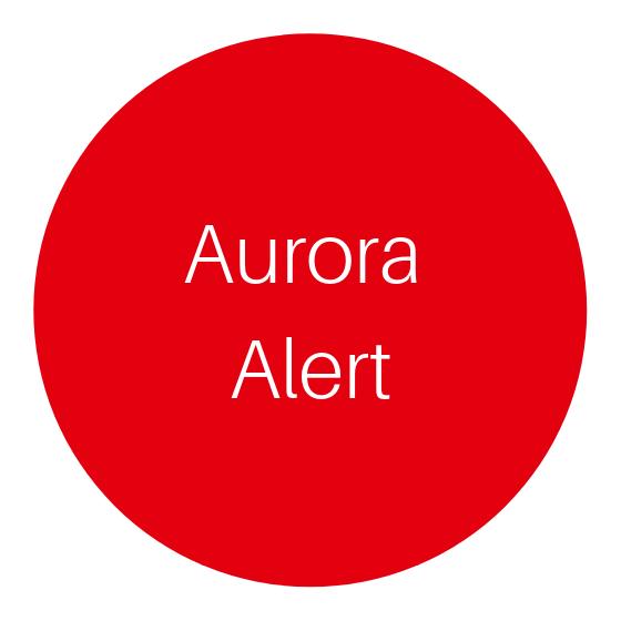Aurora Alert in Rovaniemi Lapland Finland