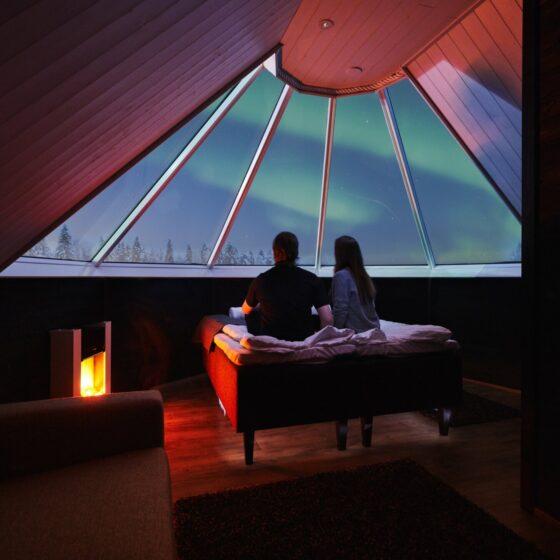 Aurora Cabin in Apukka Resort, Rovaniemi, Lapland, Finland
