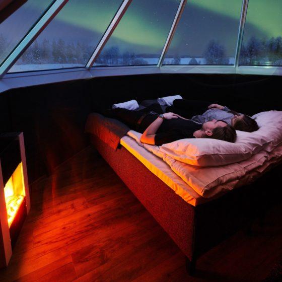 Aurora Cabin Apukka Resort Rovaniemi Lapland Finland