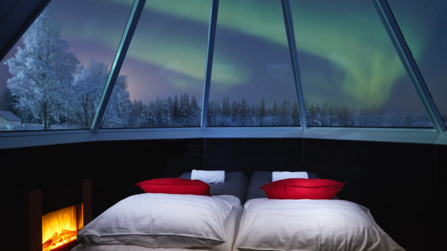 Aurora Cabin inside