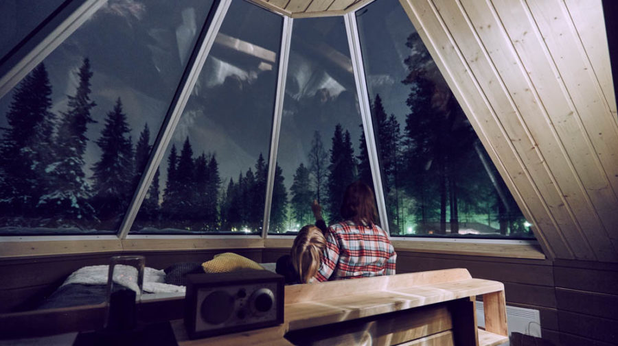 Aurora Igloo Hut