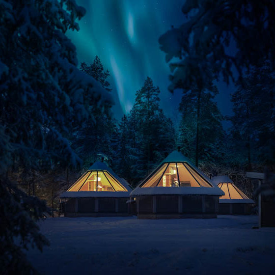 Glass Igloos in Rovaniemi, Arctic Circle, The Official