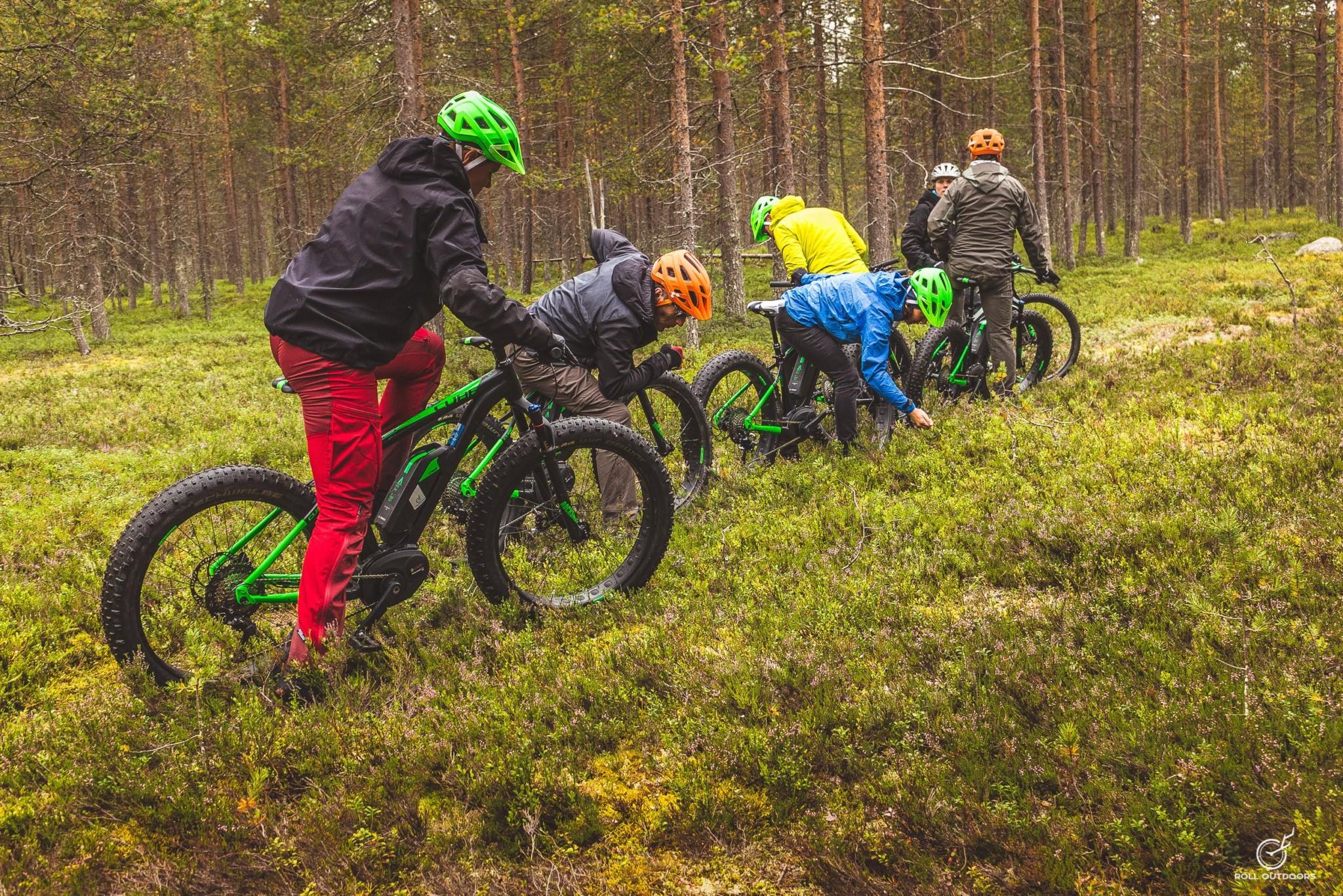 Roll Outdoors, mountain biking, Ounasvaara