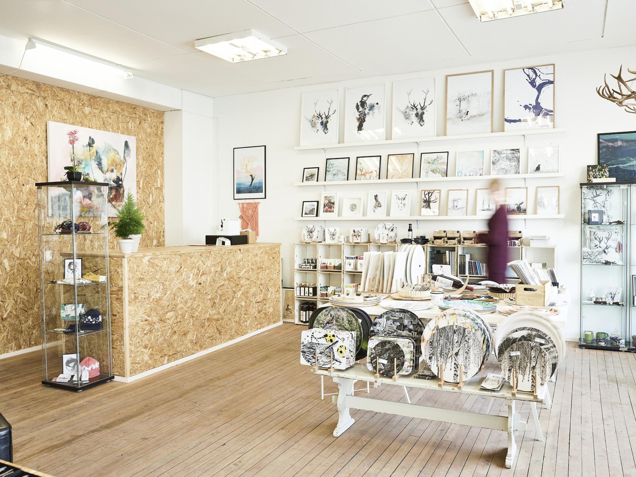 Arctic Design Shop in Rovaniemi, Lapland, Finland