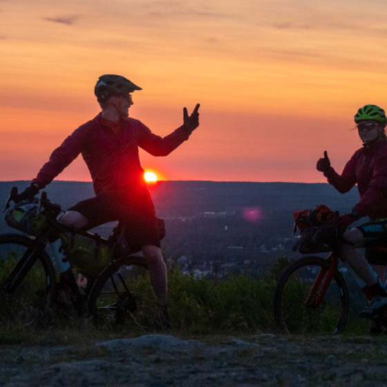 mountainbiking in Rovaniemi Lapland Finland