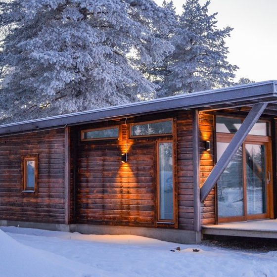 Cabins in Nordic Lapland Finland, Swedish Lapland, Sweden