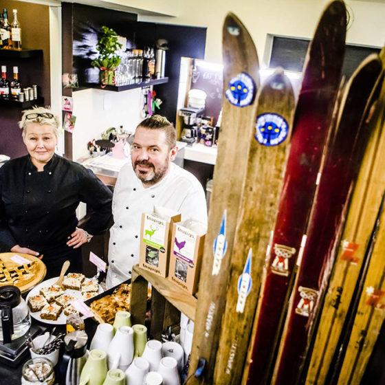 Cafe Rovaniemi in Rovaniemi, Lapland, Finland