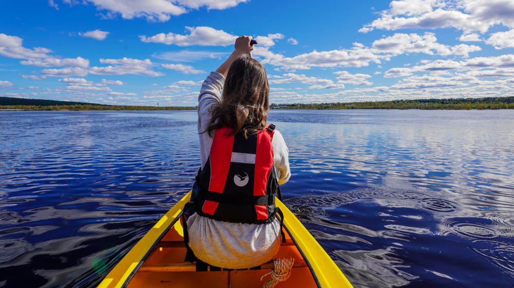 Canoeing with Wild About Lapland in Rovaniemi, Finland