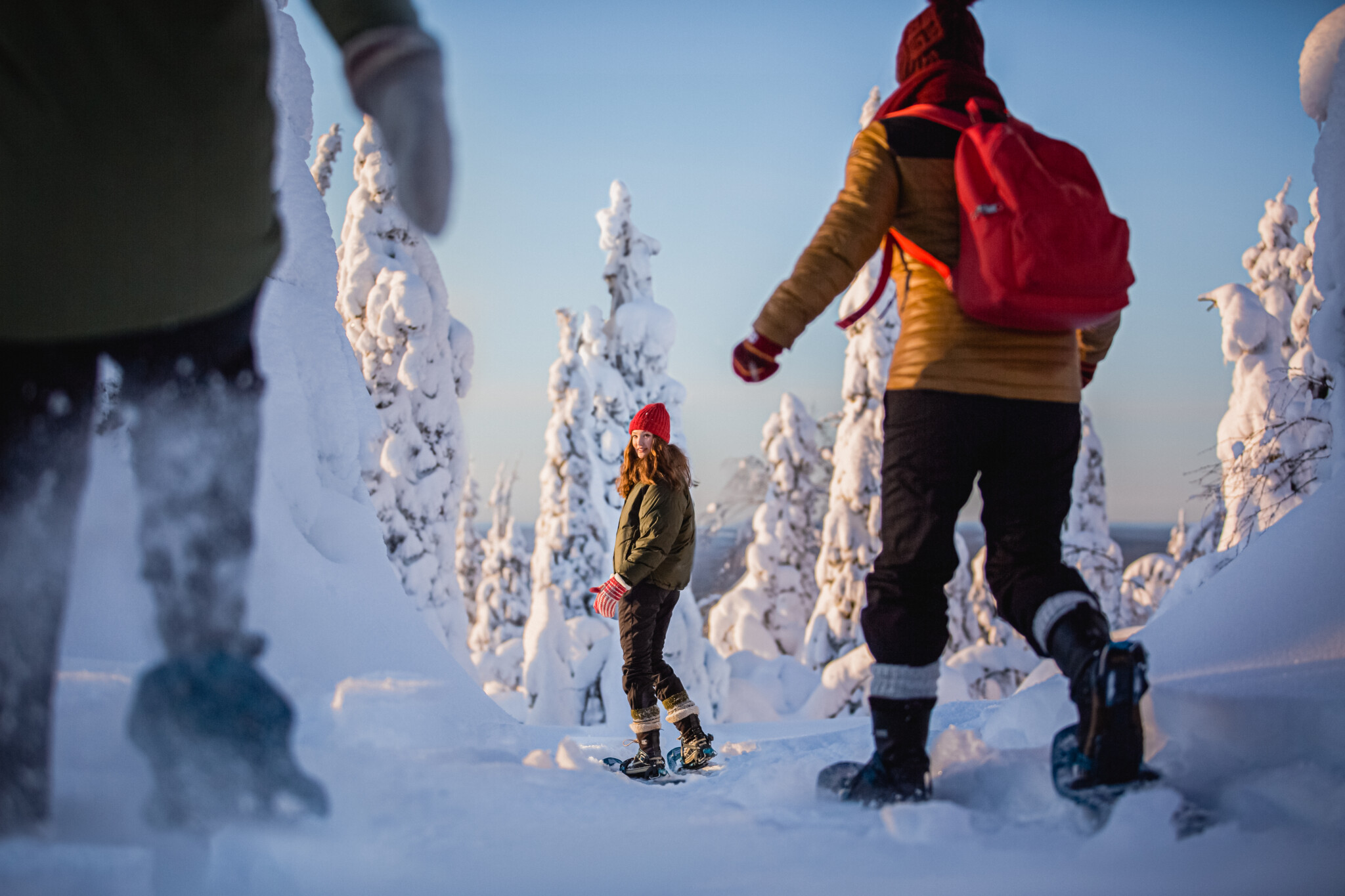 Visit Rovaniemi Rovaniemen lumi lomat Rovaniemi Lapland Finland
