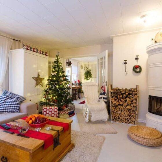 Christmas in Villa Virpi, Rovaniemi, Lapland, Finland