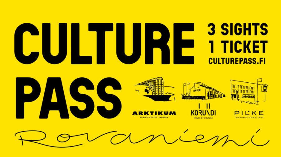 Kulttuuripassi Visit Rovaniemi lapin kulttuuripääkaupunki