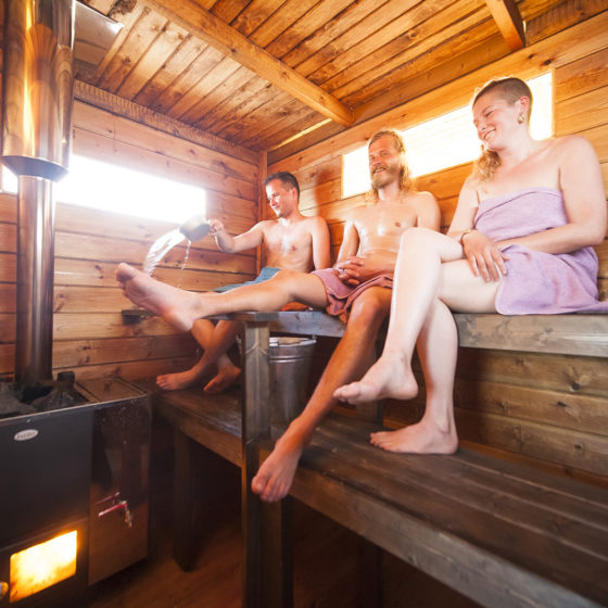 Yulia Bright Amateur Finnish sauna