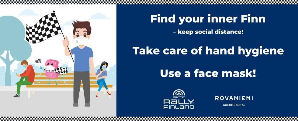 Find your inner Finn keep social distance Visit Rovaniemi 3