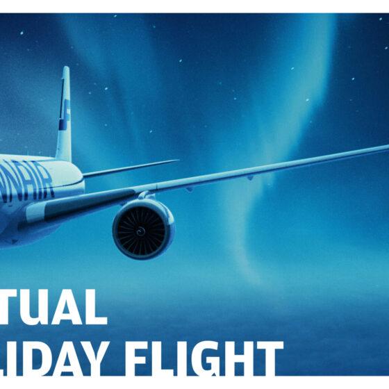 Finnair x Visit Rovaniemi virtual flight 2020 EN