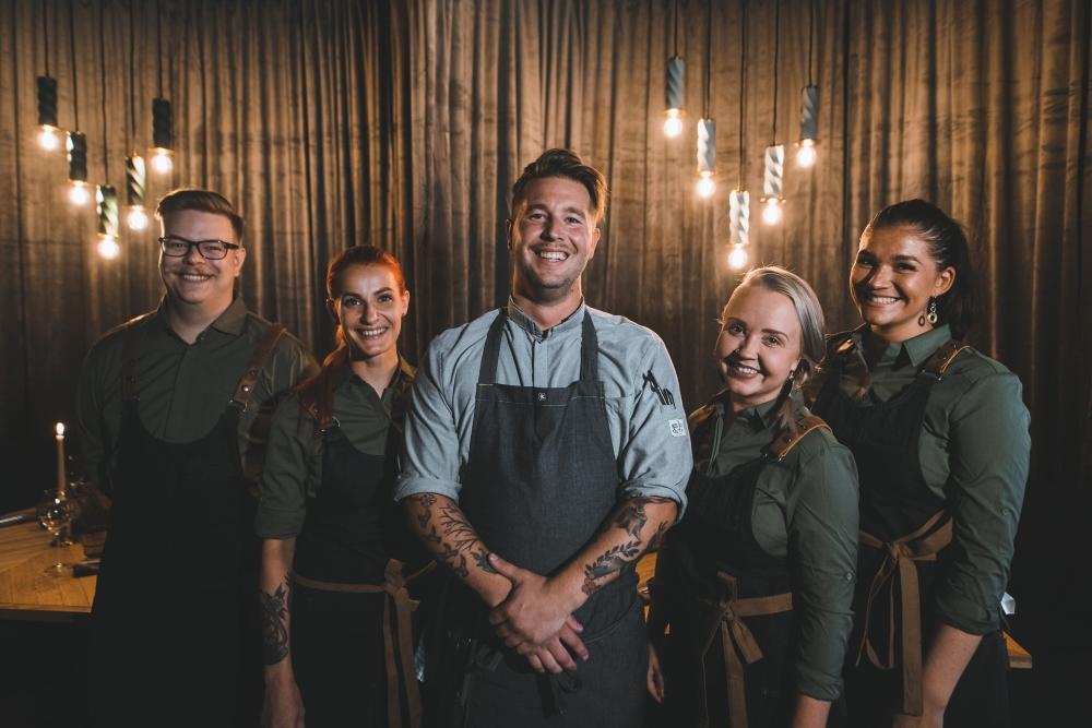Gustav Kitchen Bar staff, Rovaniemi, Lapland, Finland