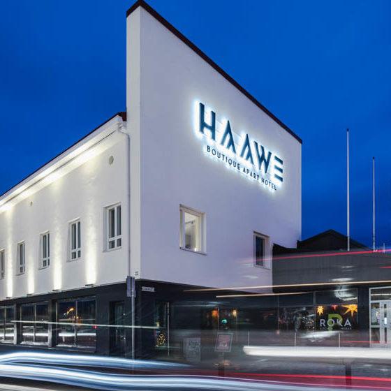 Haawe Boutique Apart Hotel in Rovaniemi, Lapland, Finland