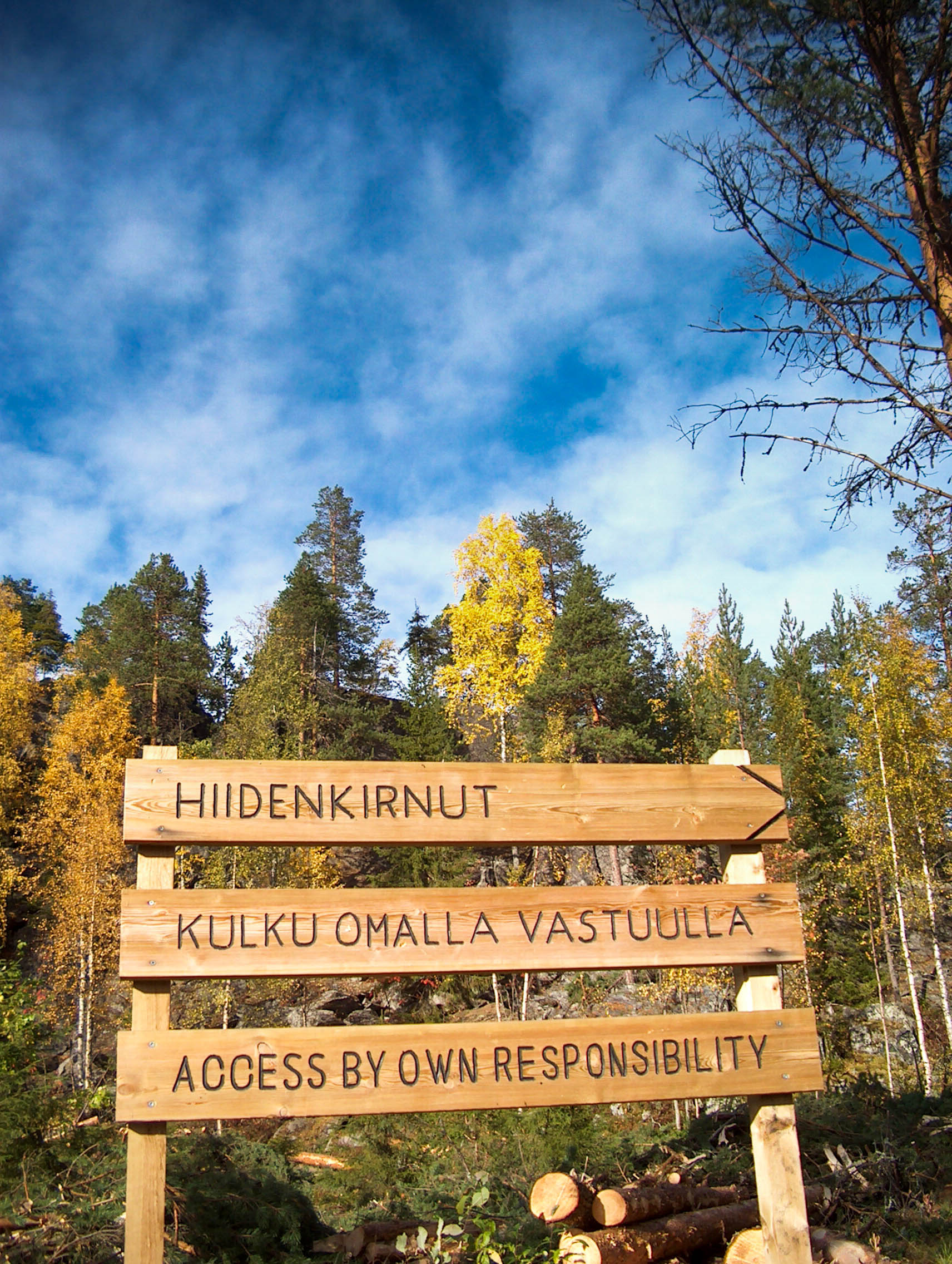 Hiidenkirnut in Rovaniemi Lapland Finland
