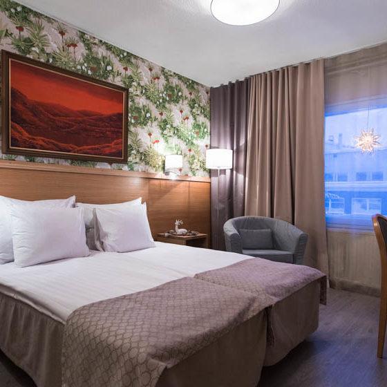 Hotel Aakenus in Rovaniemi, Lapland, Finland