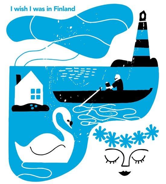 I wish I was in Finland lake_w_sanna mander Visit Finland