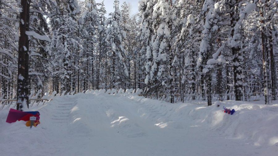 Snow slide