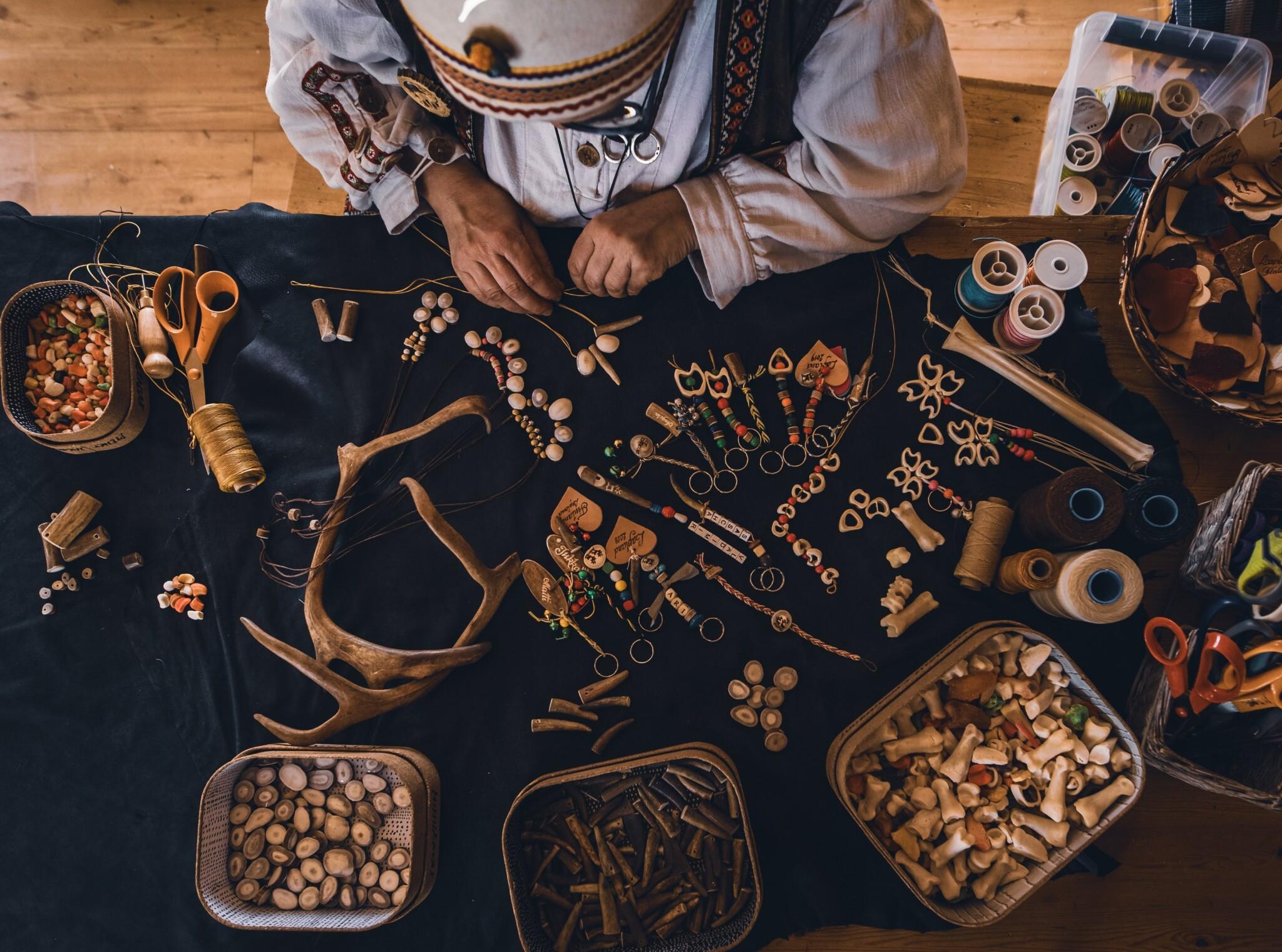 Irene Kangasniemi handicrafts in Rovaniemi Lapland Finland (1)