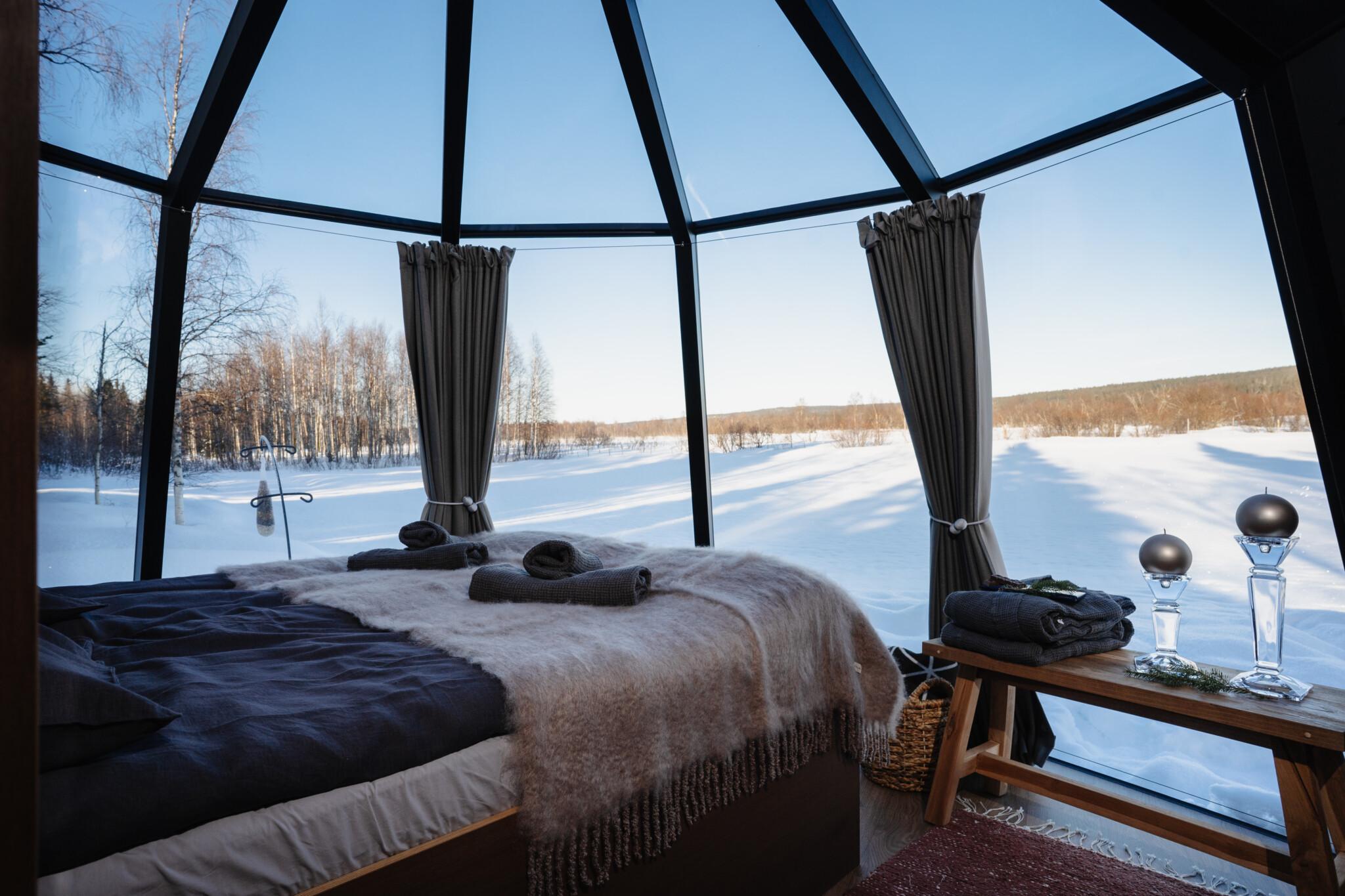 Ollero Eco Lodge Iglu Rovaniemen majoitukset
