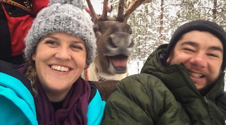 Jayde Kari from Australia got proposed at the Arctic Circle in Rovaniemi Lapland Finland
